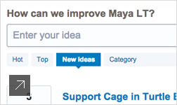 User workflow improvements