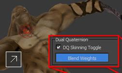Dual Quaternion skinning