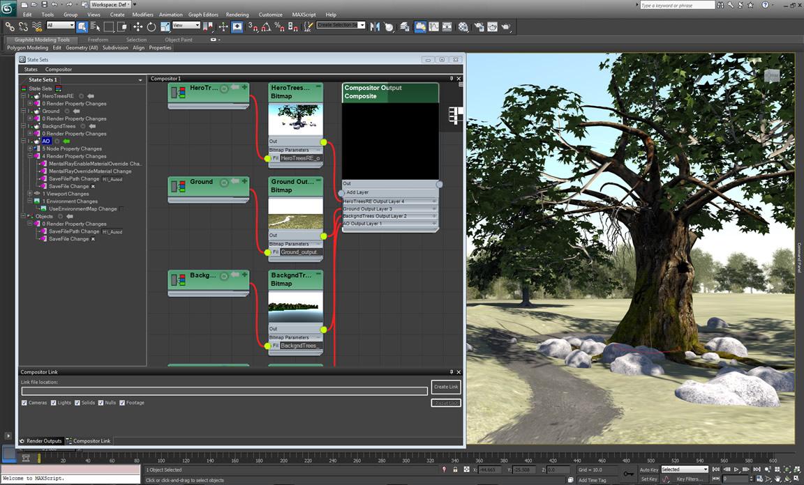 Slate Compositing Editor