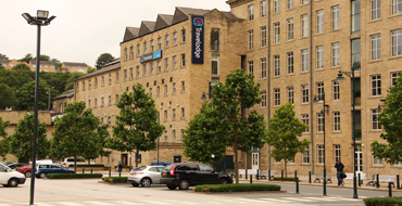 The Travelodge at Dean Clough