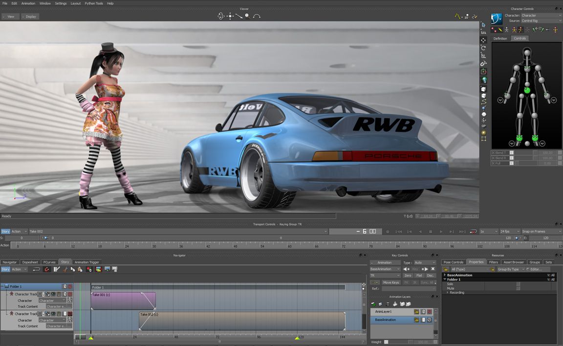 Motion capture editing