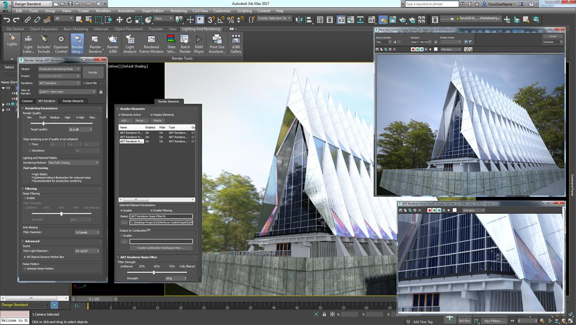 Autodesk Raytracer Renderer (ART)