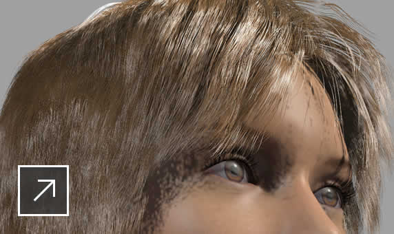 Interactive hair grooming (XGen)