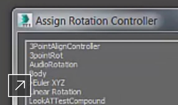 Max Creation Graph animation controllers